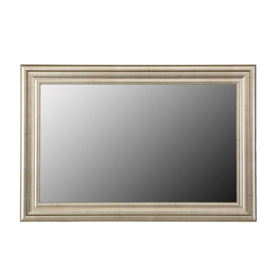 Gardner Glass Products Mirror Frame Kit 24 X 30 Humboldt Nickel At