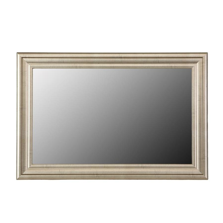Gardner Glass Products Mirror Frame Kit 36 X 36 Humboldt Nickel At