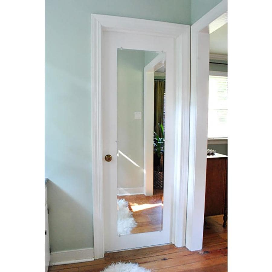 Shop dreamwalls silver beveled frameless wall mirror at for Mirror video
