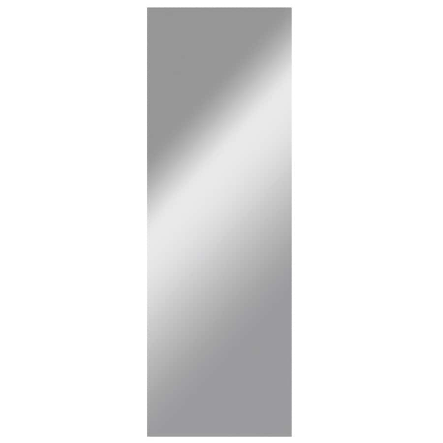 Gardner Glass Products 16-in x 56-in Silver Polished Rectangle Frameless Traditional Wall Mirror