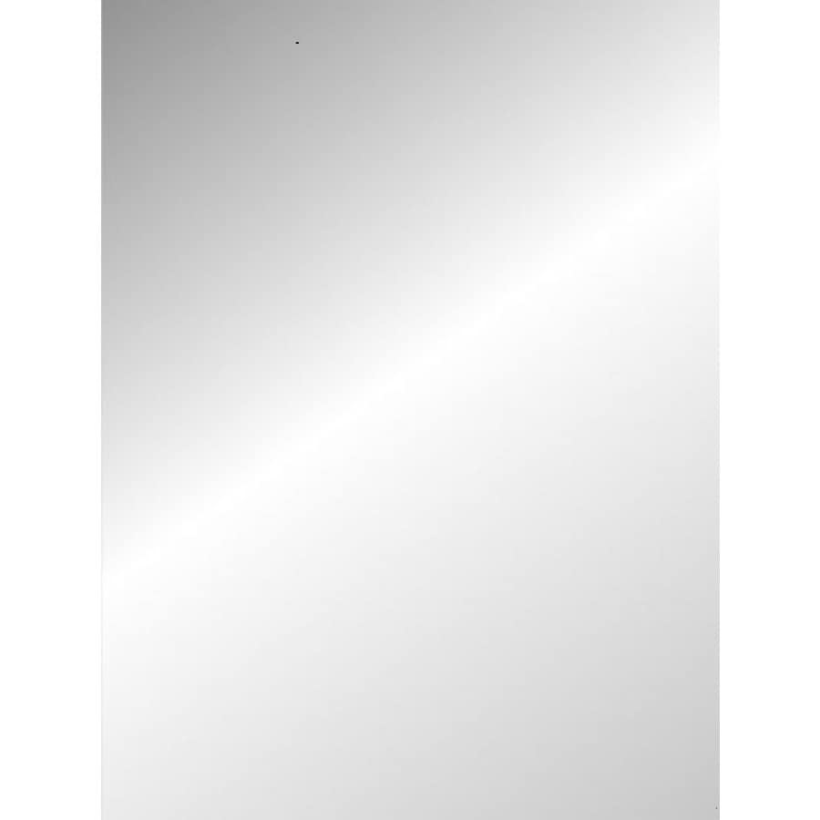 Shop gardner glass products 1 8 in x 30 in x 36 in clear for Miroir 130 x 80