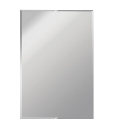 60 In L X 30 W Beveled Frameless Wall Mirror