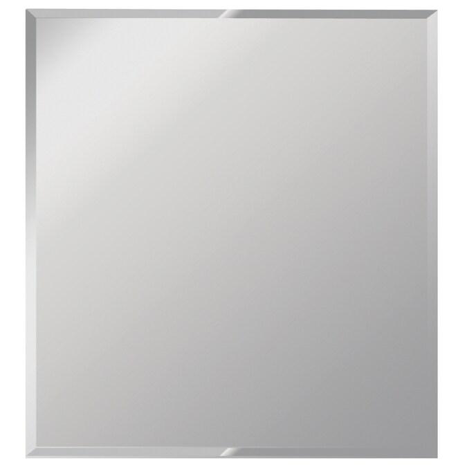 Beveled Frameless Wall Mirror, 36 X 42 Framed Beveled Mirror