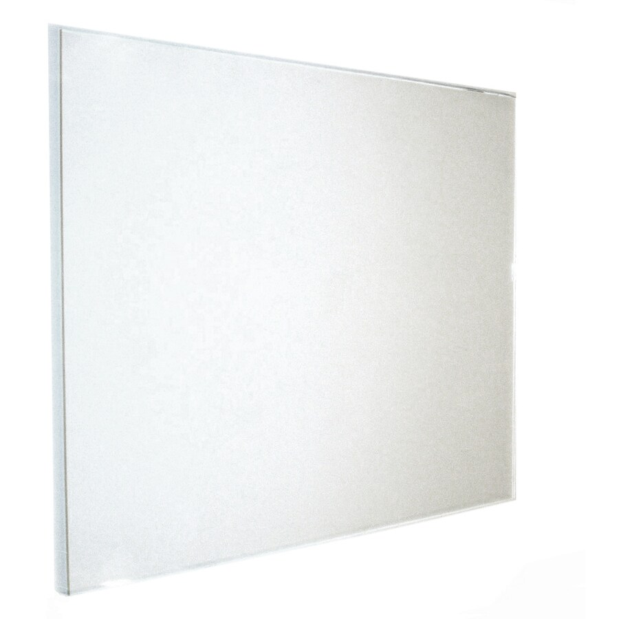 shop gardner glass products 1 8 in x 24 in x 36 in clear