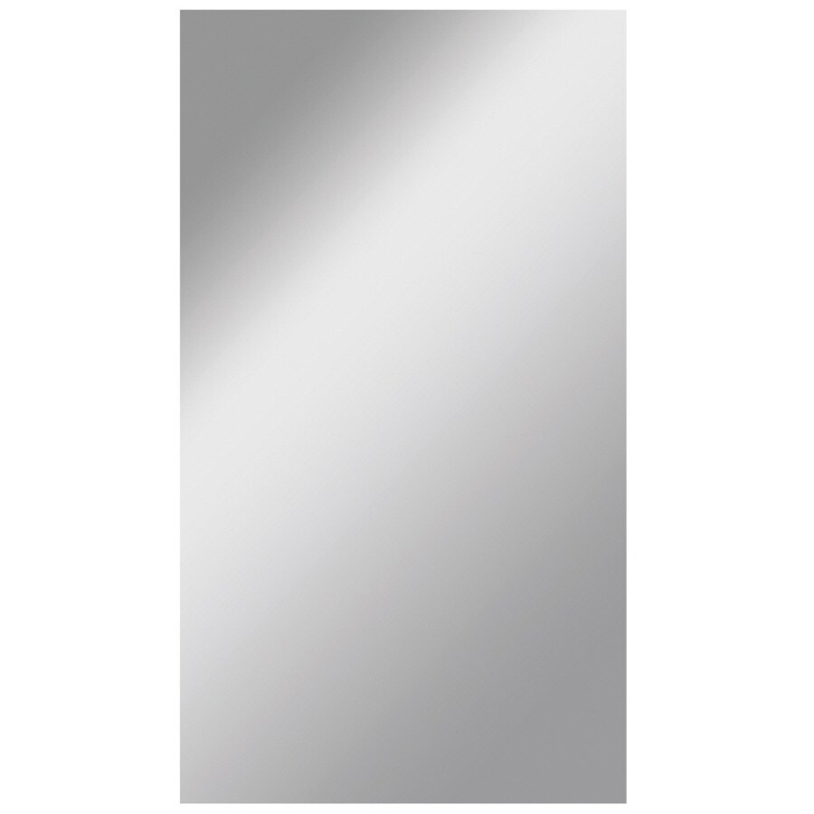 Shop Dreamwalls 42-in x 72-in Silver Polished Rectangle Frameless ...