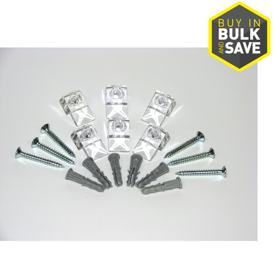 Shop Style Selections Plastic Mirror Clips At Lowes Com