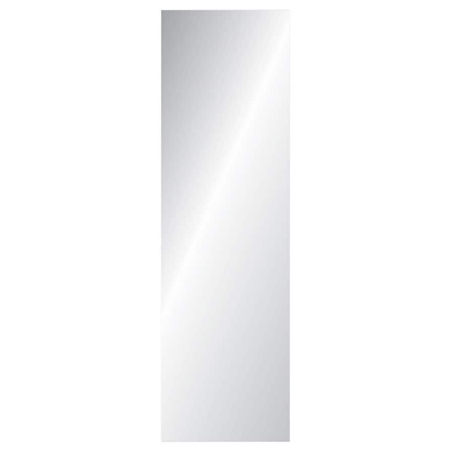Gardner Glass Products Polished Rectangle Frameless Wall Mirror