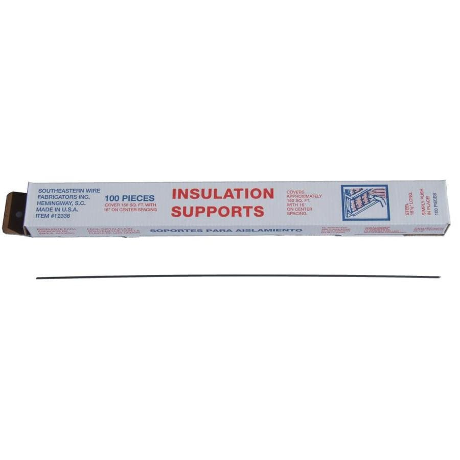 100-Pack Insulation Support (Common: 15.5-in; Actual: 15.5-in)