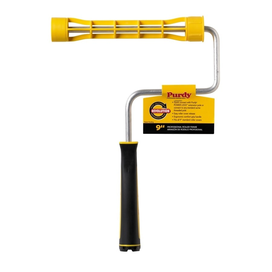 shop purdy 9 in plastic paint roller frame at lowes com