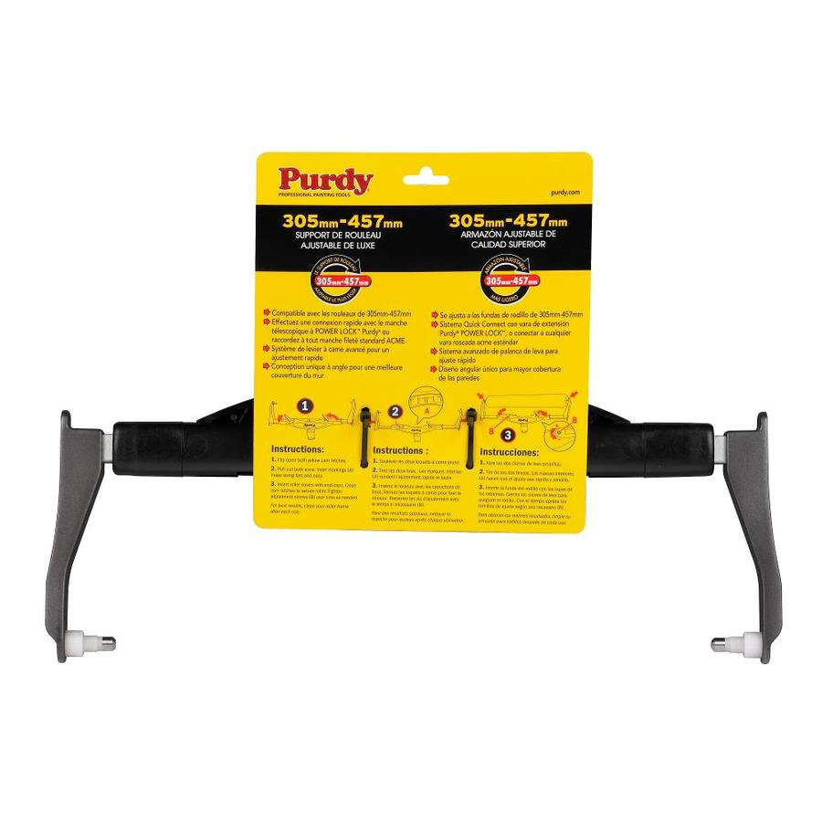 Purdy 14A753018 Adjustable Paint Roller Frame 12-Inch to 18-Inch