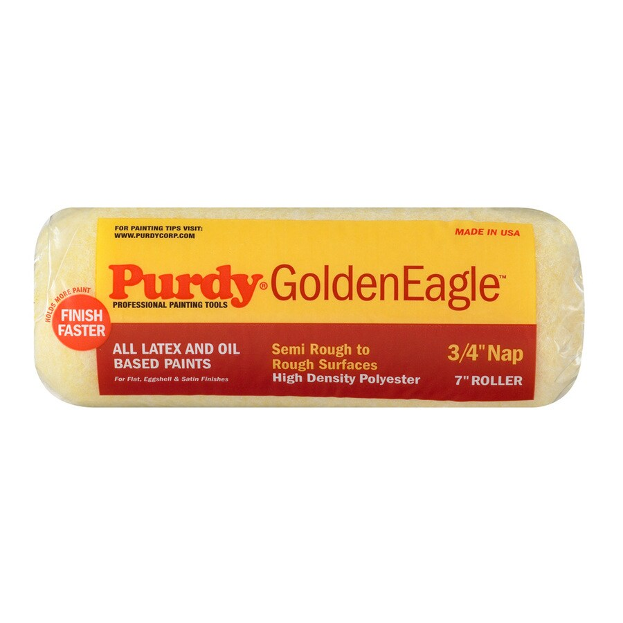 Purdy Golden Eagle Polyester Regular Paint Roller Cover (Common: 7-in; Actual: 7-in)