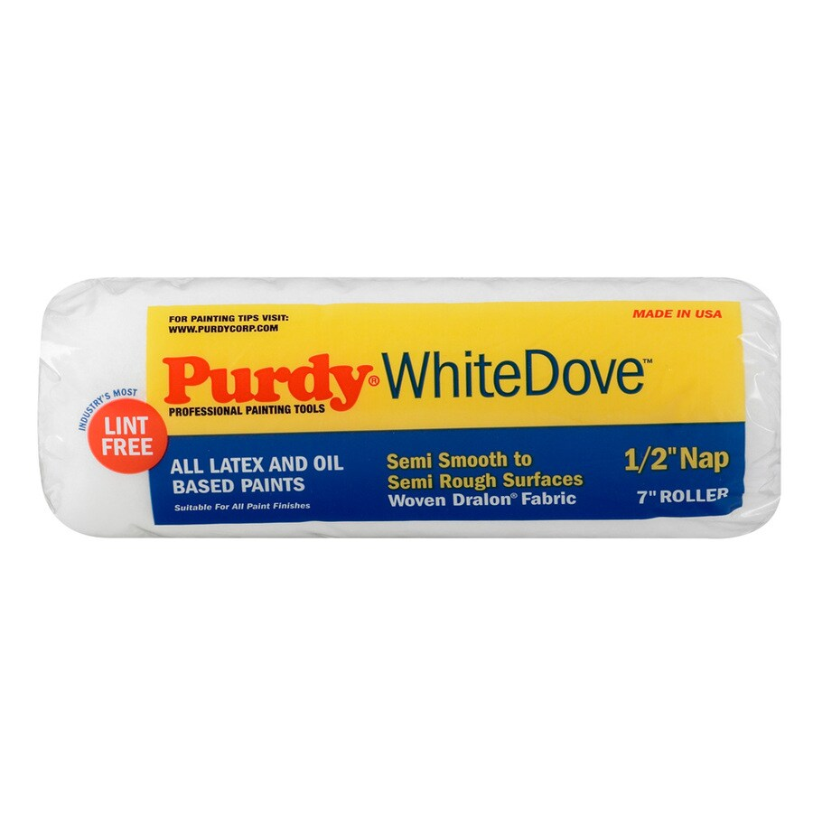 Purdy White Dove Synthetic Blend Regular Paint Roller Cover (Common: 7-in; Actual: 7-in)