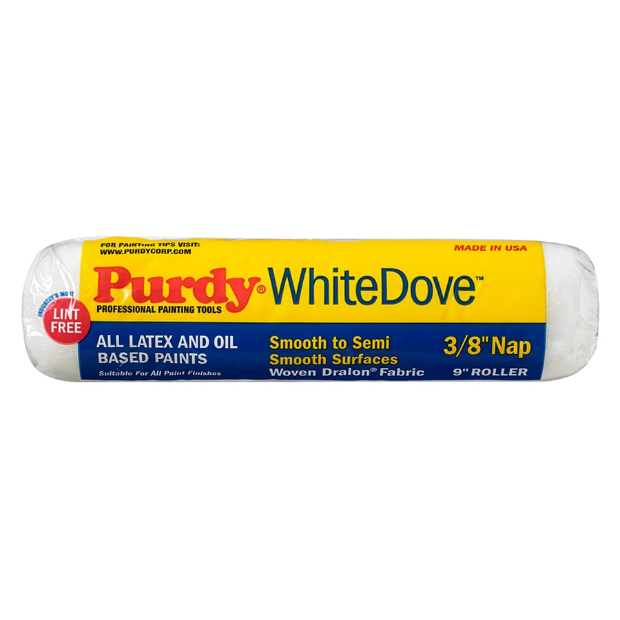 Purdy White Dove Polyester Regular Paint Roller Cover (Common: 9-in; Actual: 9-in)