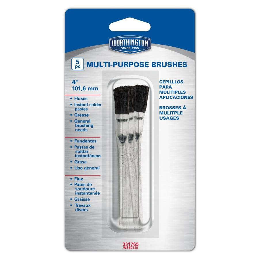 Worthington 5-Pack Acid Brush