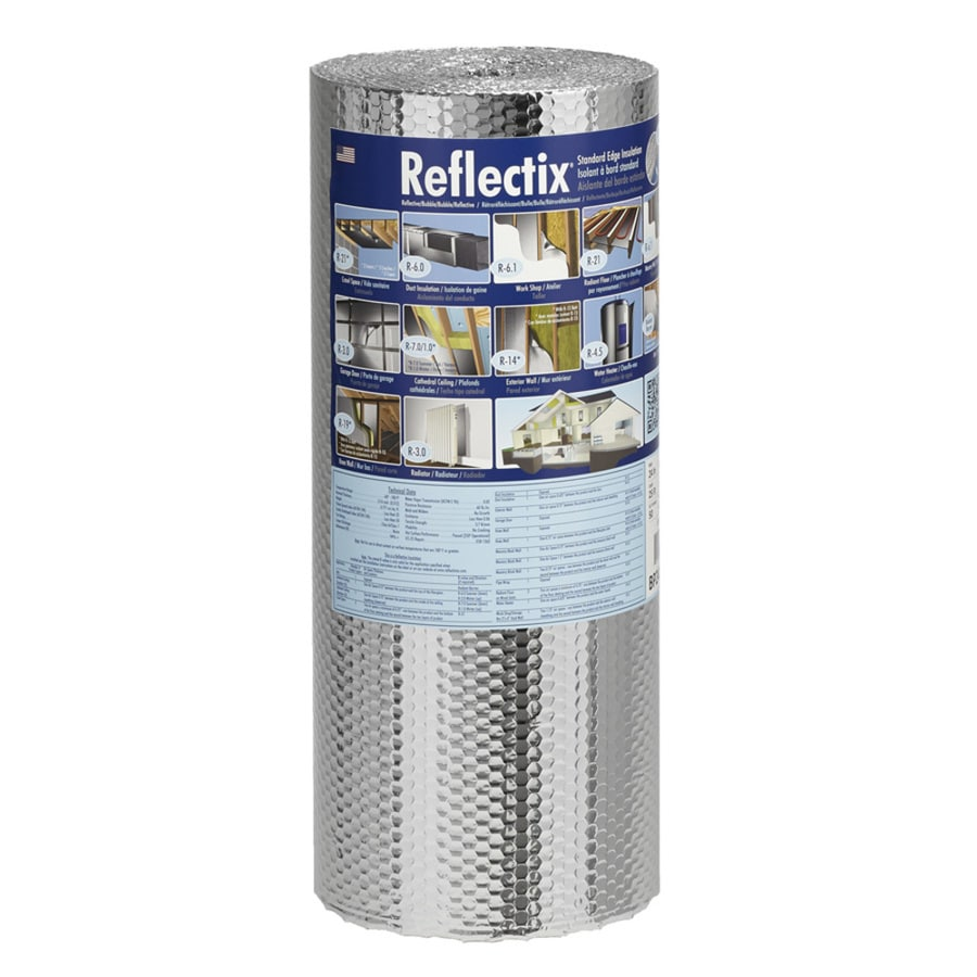 Reflectix R 21 50 Sq Ft Unfaced Reflective Roll Insulation 24 In W