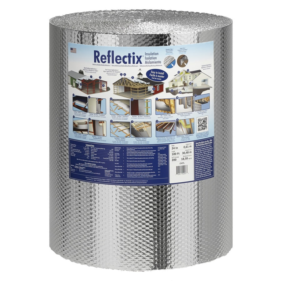 Reflectix 200-sq ft Reflective Roll Insulation (24-in W x 100-ft L)