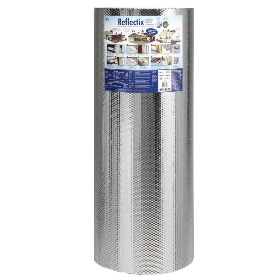 Reflectix 400-sq ft Reflective Roll Insulation (48-in W x 100-ft L)