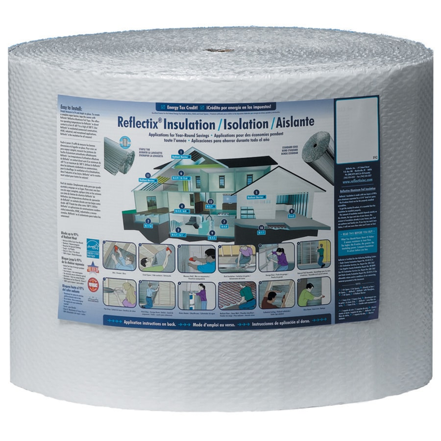 Reflectix Reflective Insulation 133.3-sq ft Reflective Roll Insulation (16-in W x 100-ft L)