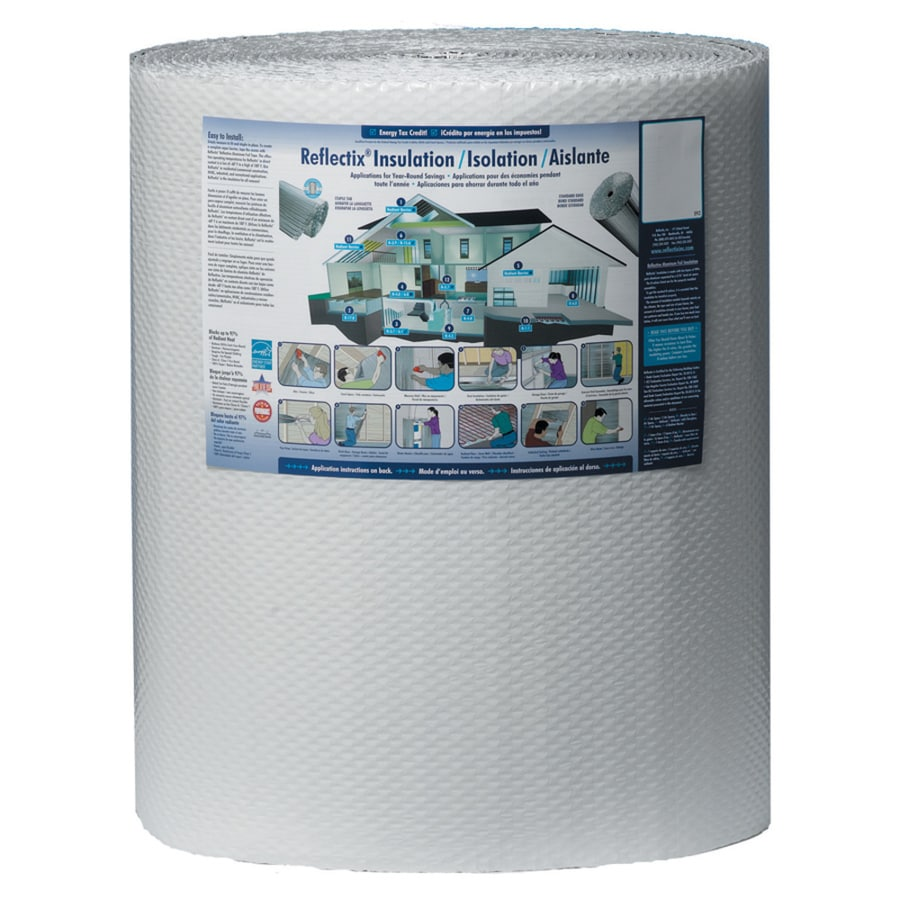 Reflectix Reflective Insulation 200-sq ft Reflective Roll Insulation (24-in W x 100-ft L)