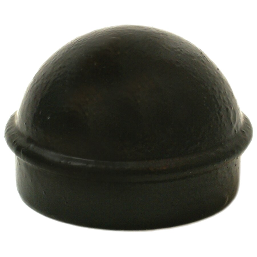 (Fits Common Post Measurement: 1-7/8-in; Actual: 2.12-in x 1.37-in) Powder-Coated Aluminum Dome Cap