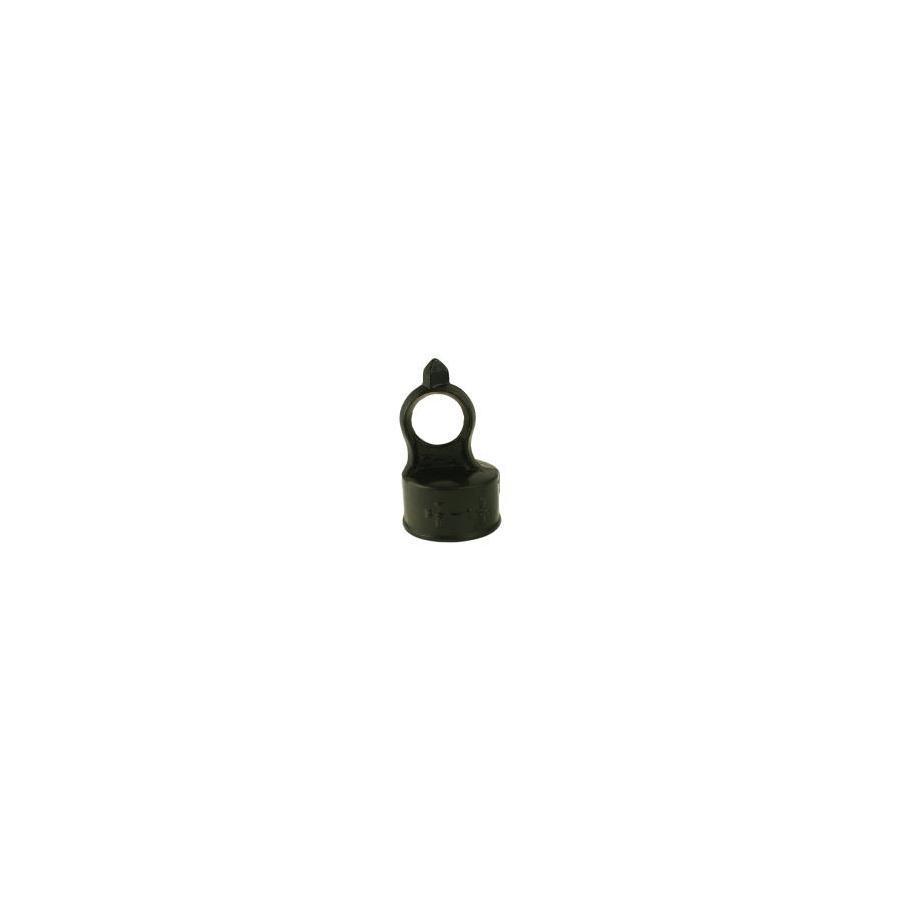 (Fits Common Post Measurement: 1-5/8-in; Actual: 2.06-in x 3.25-in) Powder-Coated Steel Eye Top