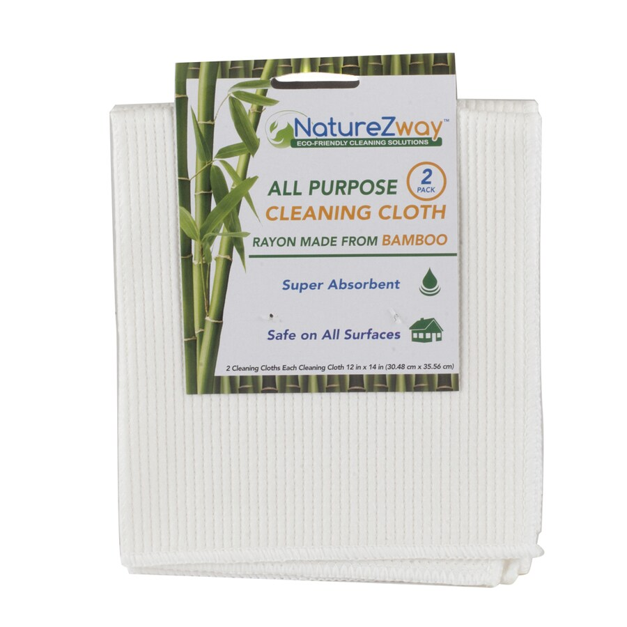 NatureZway 2-Pack Poly Cotton Cloths