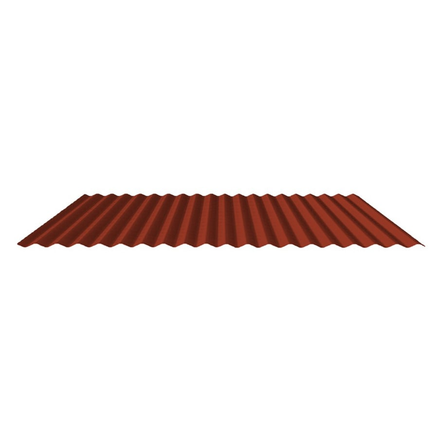 Fabral 7/8-In Corrugated 2.95-ft x 12-ft Corrugated Steel Roof Panel