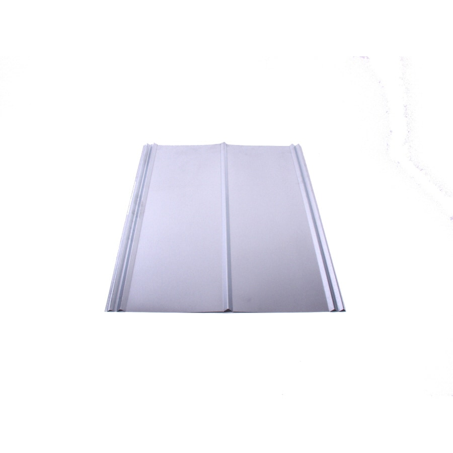 Lowe S Metal Roof Panels : Shop fabral v crimp ft ribbed steel roof
