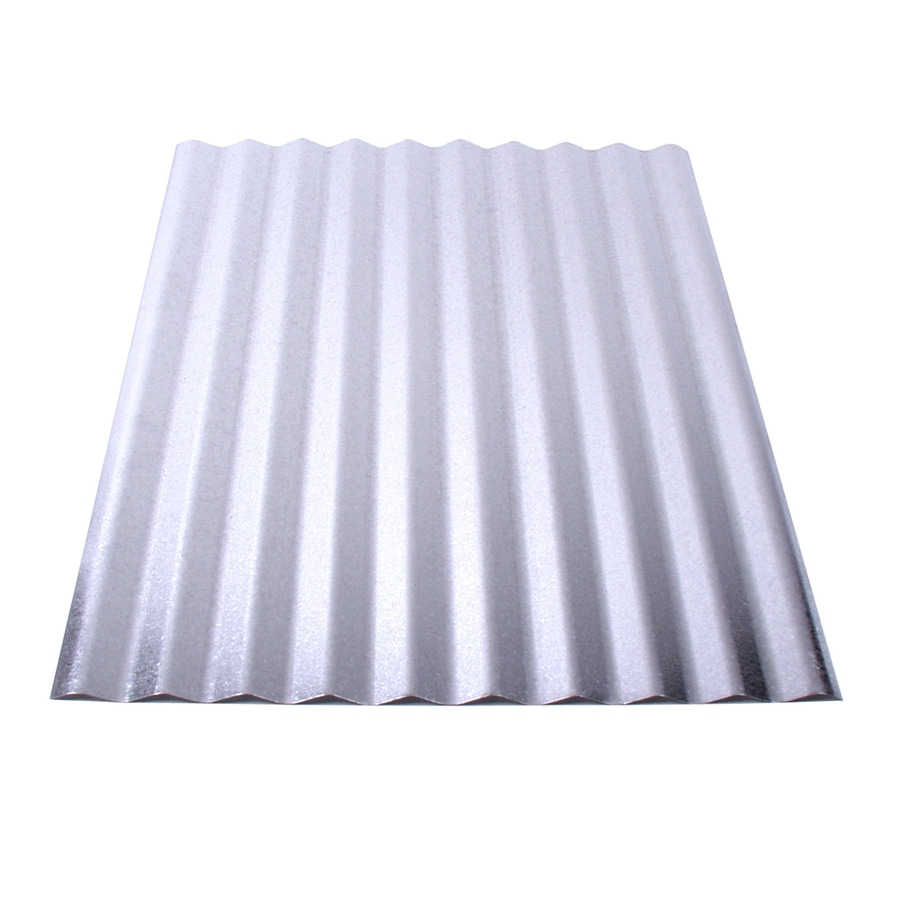 Fabral 1-1/4-in Corrugated 2.16-ft x 8-ft Corrugated Steel Roof Panel