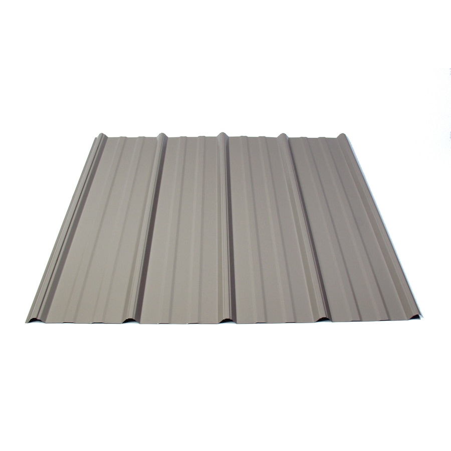 Fabral 3.14-ft x 12-ft Ribbed Steel Roof Panel