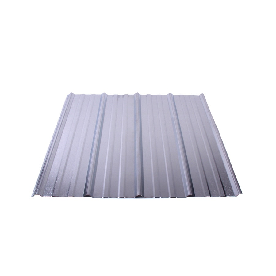 Shop Fabral 5 Rib 3 14 Ft X 12 Ft Ribbed Steel Roof Panel