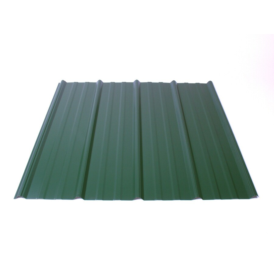 Fabral 5 Rib 3.14-ft x 8-ft Ribbed Steel Roof Panel