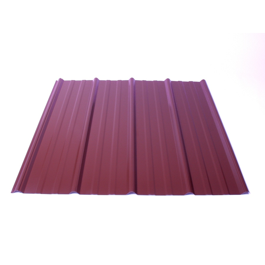 Fabral 5 Rib 3.14-ft x 10-ft Ribbed Steel Roof Panel