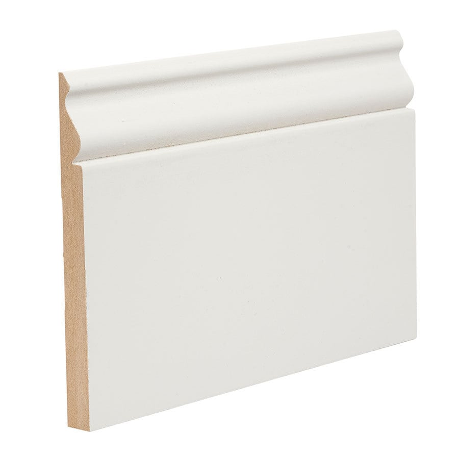 "EverTrue Primed Wood Composite 610 Base 5 1/4"" x 8' x 1/2"""