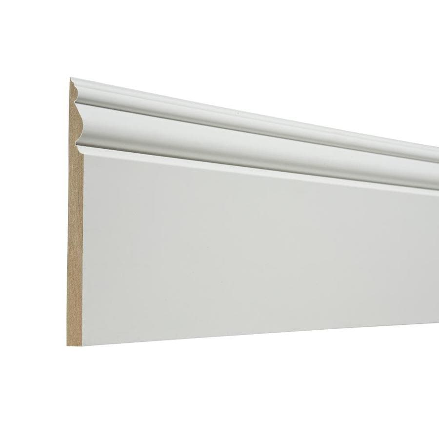 5.438-in x 12-ft Interior Composite Baseboard