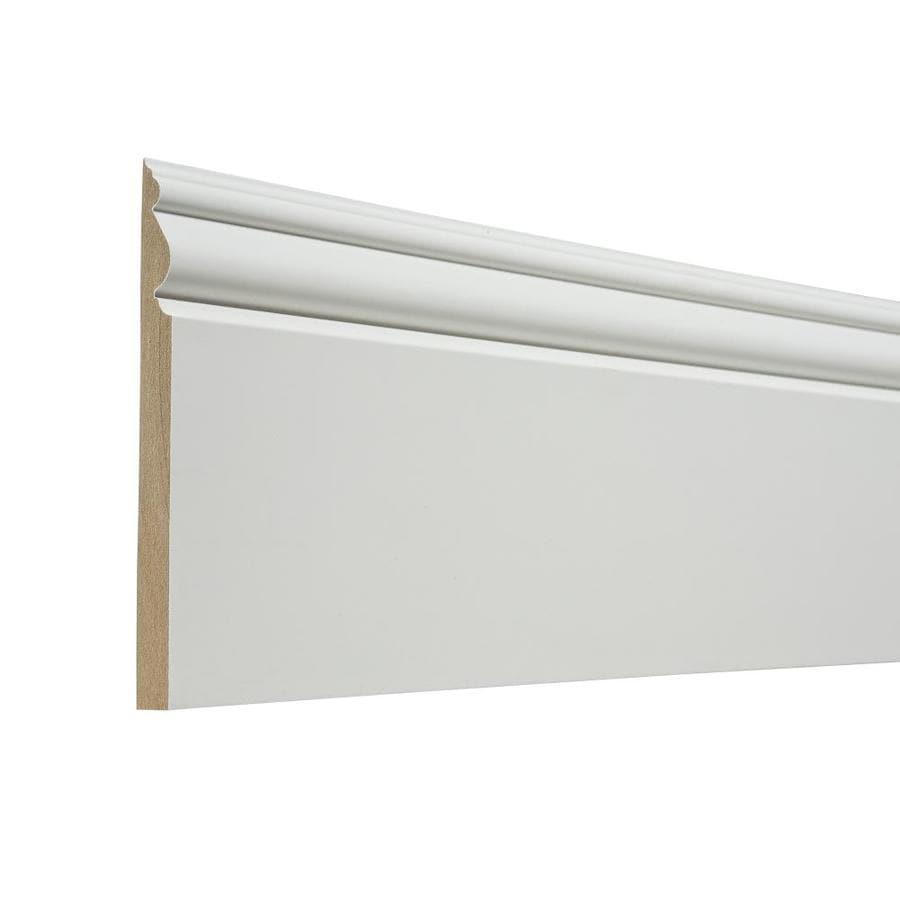 EverTrue 5.438-in x 12-ft Interior Composite Baseboard