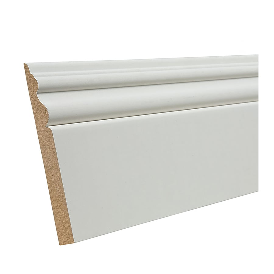 Medium Density Fiberboard Lowe S ~ Shop in ft interior primed mdf baseboard moulding