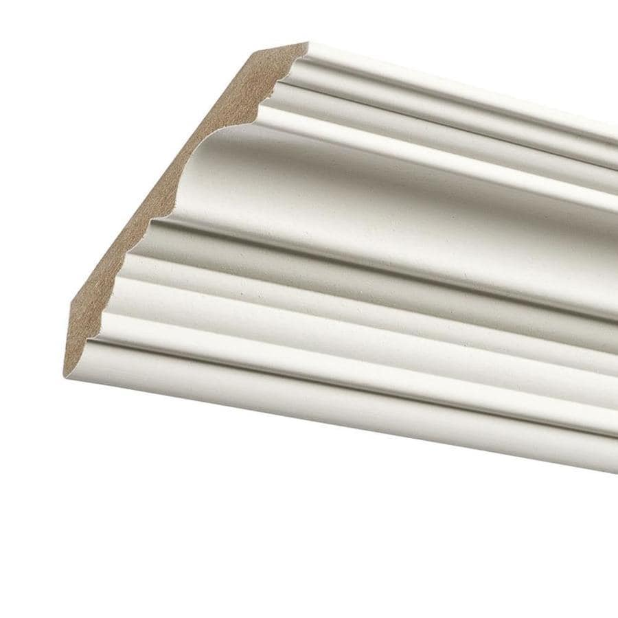 4.125-in x 8-ft Primed MDF Crown Moulding