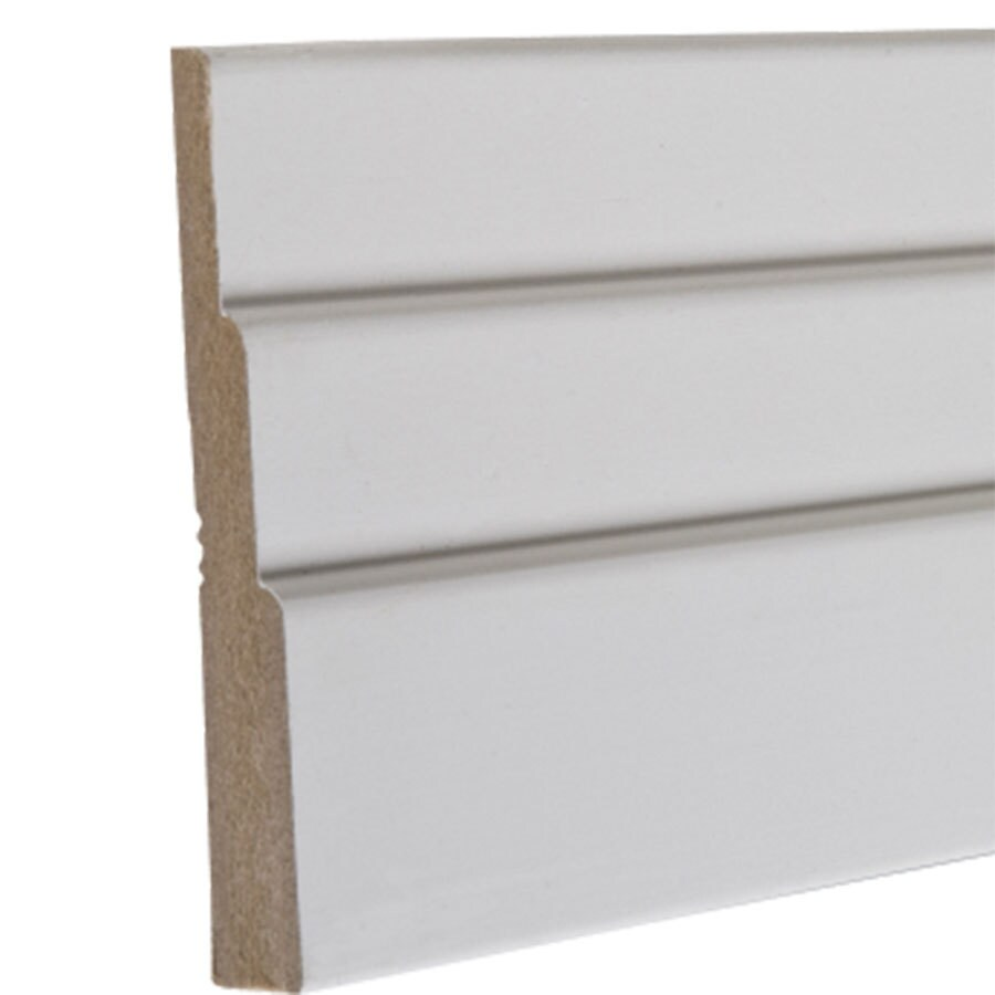 3.5-in x 8-ft Interior Composite Baseboard