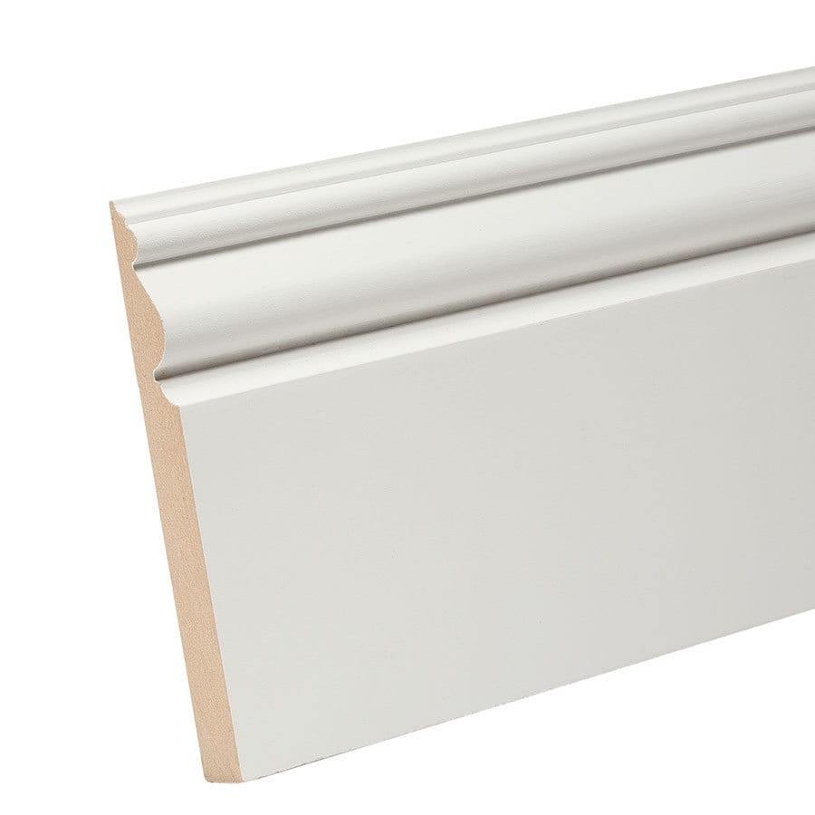 4.5-in x 8-ft Interior Composite Baseboard