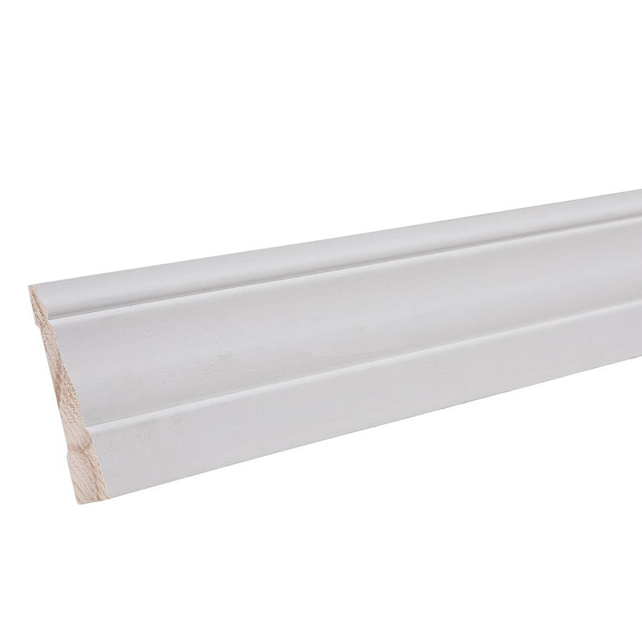 2.125-in x 12-ft Interior Pine Primed Baseboard Moulding