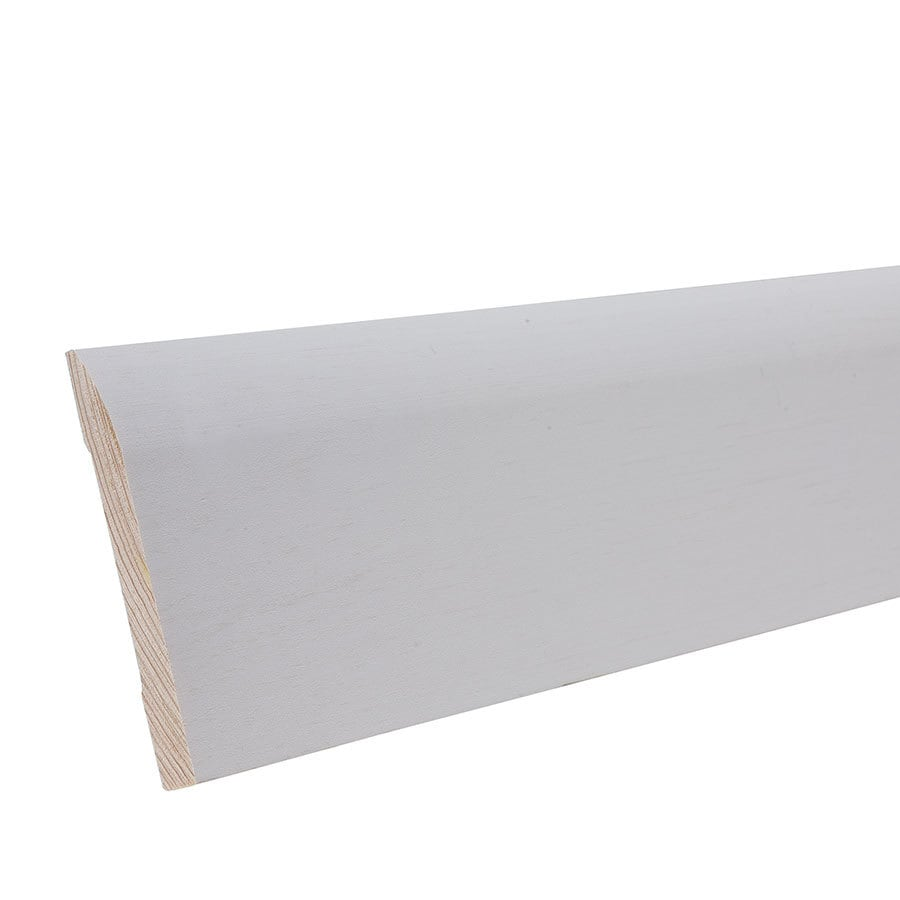 "EverTrue Primed Pine 723 Base 3 1/4"" x 12' x 3/8"""