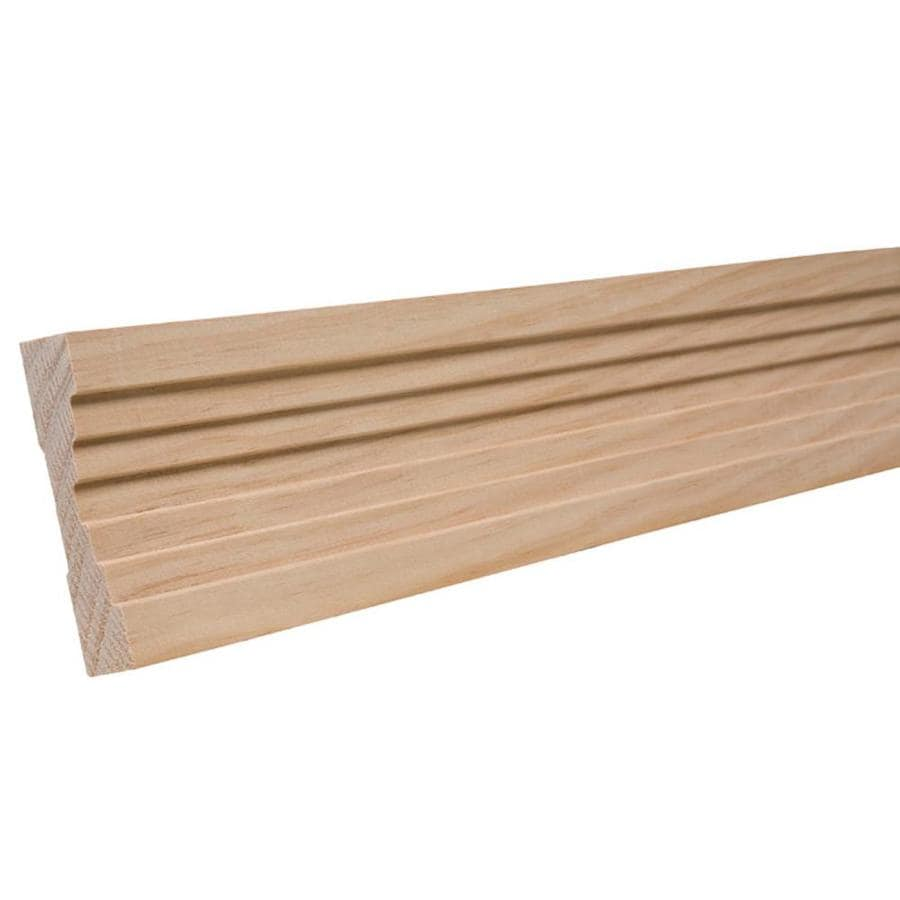 3.25-in X 8-ft Pine Chair Rail Moulding At Lowes.com