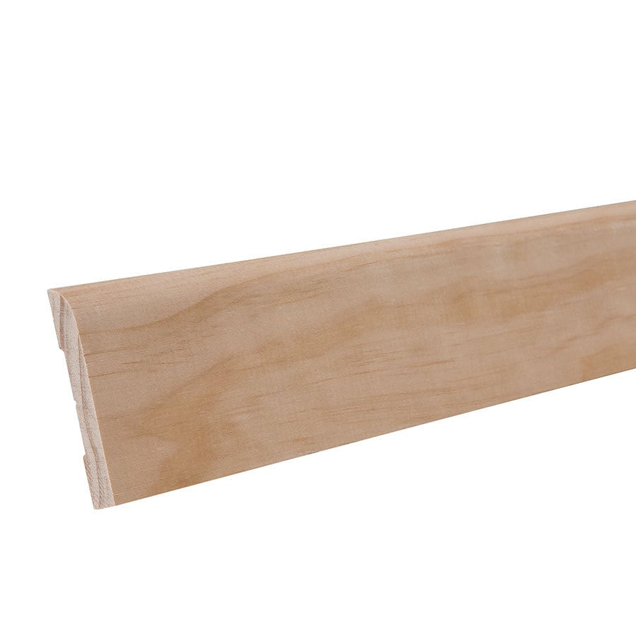 2.25-in x 12-ft Interior Pine Baseboard