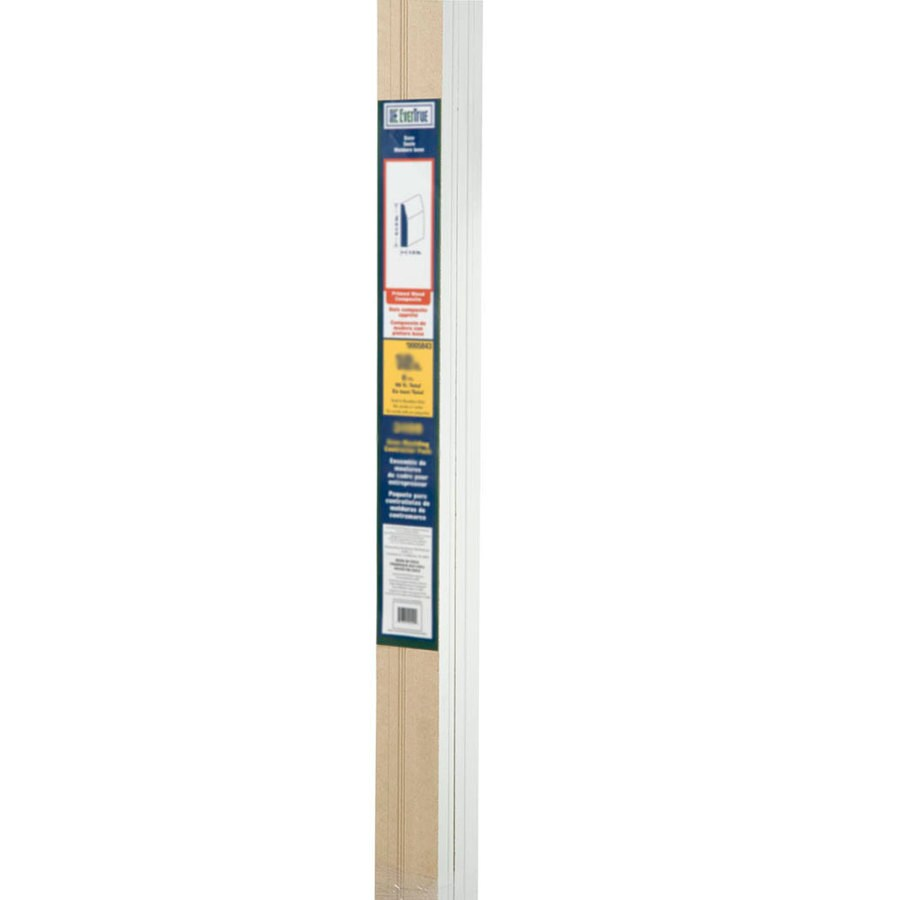 EverTrue 8-Pack 2.5-in x 12-ft Interior Pine Baseboard