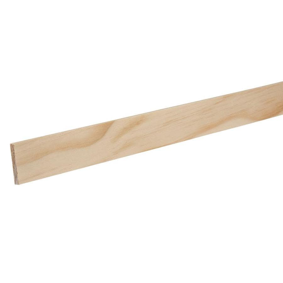 "EverTrue Solid Pine 266 Lattice 1 1/2"" x 12' x 1/4"""