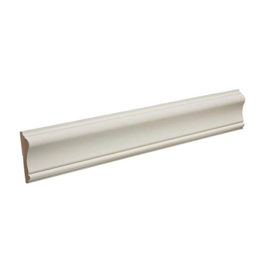 1.625-in x 8-ft Primed MDF Chair Rail Moulding