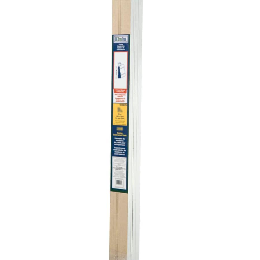 "EverTrue Primed Wood Composite 3386 Casing 2 1/4"" x 7' x 5/8"" 84' Bundle"