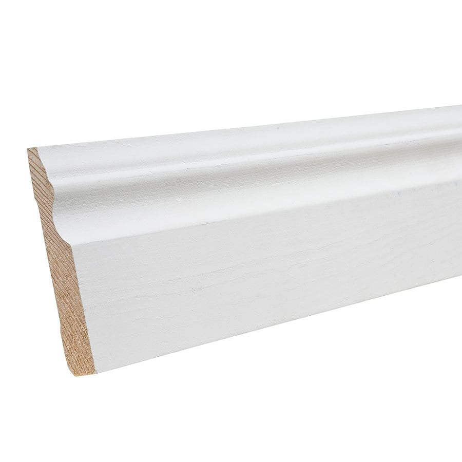 "EverTrue Primed Pine3683  Base 3 1/4"" x 12' x 9/16"""
