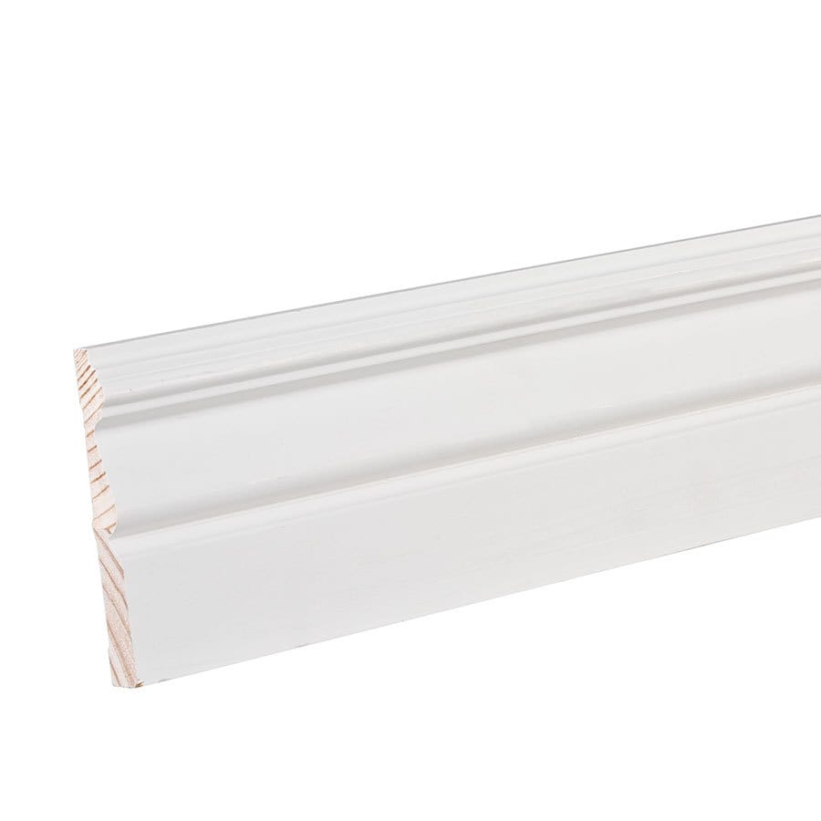 EverTrue 4.25-in x 8-ft Interior Pine Baseboard